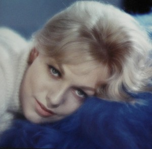Actress Kim Novak in her acting days. about Kim Novak, bio image